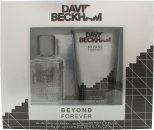 David & Victoria Beckham Beyond Forever Set de regalo 60ml EDT + 200ml Gel de ducha