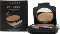 Palladio Herbal Dual Wet & Dry Powder Foundation 8g - Everlasting Tan