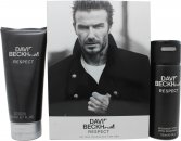 David Beckham Respect Set de regalo 150ml Deodorant Spray + 200ml Gel de ducha