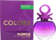 Benetton Colors de Benetton Purple Eau de Toilette 50ml Spray