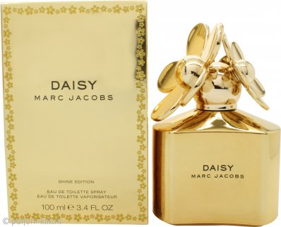 Marc Jacob Daisy Shine Eau de Toilette 100ml Spray - Gouden Uitvoering