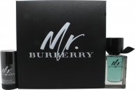 Burberry Mr. Burberry Gift Set 100ml EDT + 75g Deodorant Stick