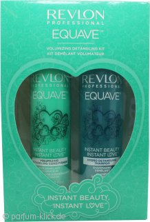 Revlon Equave Hydro Shampoo 250ml + Volumizing Leave-In Spray Conditioner 200ml