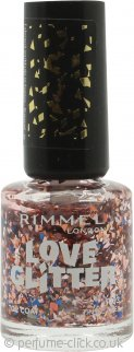 Rimmel Love Glitter Nail Polish 8ml - 033 Tinsel Toes