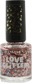 Rimmel Love Glitter Neglelak  8ml - 033 Tinsel Toes