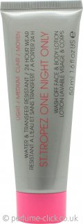 St. Tropez One Night Only Wash Off Face & Body Lotion 50ml - Light/Medium