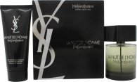 Yves Saint Laurent La Nuit de L'Homme Gift Set 100ml EDT + 100ml Shower Gel