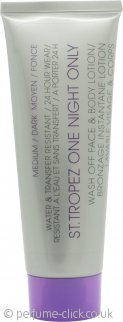 St. Tropez One Night Only Wash Off Face & Body Lotion 50ml - Medium/Dark