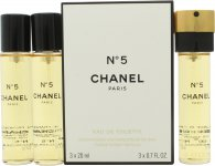 Chanel N°5 Gift Set 3 x 20ml EDT Refills