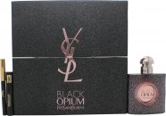 Yves Saint Laurent Black Opium Nuit Blanche Confezione Regalo 50ml EDP + Mini Black Mascara + Mini Black Eyeliner