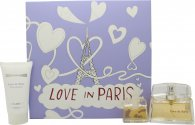 Nina Ricci Love In Paris Gift Set 30ml EDP + 50ml Body Lotion + 5ml EDP