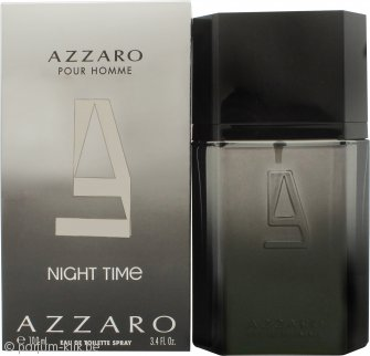 Azzaro Night Time Pour Homme Eau de Toilette 100ml Spray