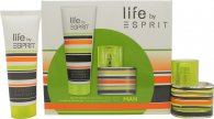 Esprit Your Life Man Gavesett 30ml EDT + 75ml Shower Gel