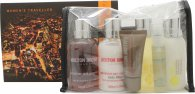 Molton Brown Molton Brown Gift Set 100ml B/L + 100ml S/G + 75ml H/B Wash + 75ml Cond+ 15ml H/Cream + 10ml Moist Mis
