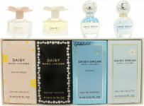 Marc Jacobs Daisy Gift Set 4 x 4ml (Daisy + Daisy Eau So Fresh + Daisy Dream + Daisy Dream Forever)