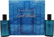 Davidoff Cool Water Gift Set 75ml EDT + 75ml Aftershave Lotion
