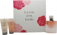 Lancome La Vie Est Belle Gift Set 50ml EDP + 50ml Shower Gel + 50ml Body Lotion