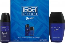 Dana Rapport Sport Gift Set 3.4oz (100ml) EDT + 5.1oz (150ml) Body Spray