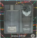 Police Original Gift Set 100ml EDT + 100ml Shower Gel