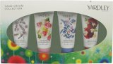 Yardley Hand Cream Gift Set 4 x 50ml - English Bluebell + English Lavender + English Rose + English Dahlia