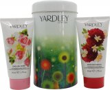 Yardley London Gift Set 50ml English Dahlia Nourishing Hand Cream + 50ml English Rose Nourishing Hand Cream