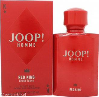 joop! joop! homme red king