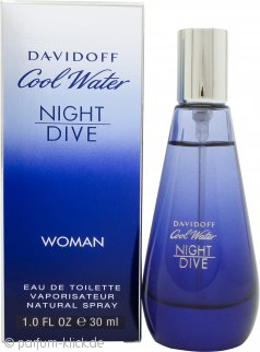 Davidoff Cool Water Night Dive Woman Eau de Toilette 30ml Spray
