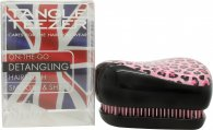 Tangle Teezer Compact Styler Detangling Hair Brush - Pink Kitty