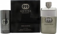 Gucci Guilty Pour Homme Gavesett 90ml EDT + 75ml Deodorant Stick