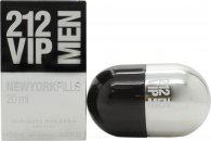 Carolina Herrera 212 VIP Men Pills Eau de Toilette 20ml Vaporizador