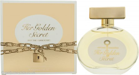 Antonio Banderas Her Golden Secret Eau de Toilette 80ml Spray