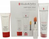 Elizabeth Arden Eight Hour Cream Original Set de regalo 50ml Eight Hour Skin Protectant + 3.7g Lip Protectant Stick + 30ml Intensive Moisturizing Hand Treatment