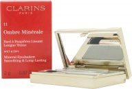 Clarins Ombre Minerale Eyeshadow 2g - 11 Silver Green