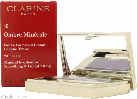 Clarins Ombre Minerale Eyeshadow 2g - 16 Vibrant Violet