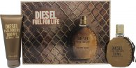 Diesel Fuel For Life Gavesett 50ml EDT + 100ml Shower Gel