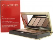 Clarins 5 Colour Eyeshadow Palette 7.5g - 01 Pretty Day
