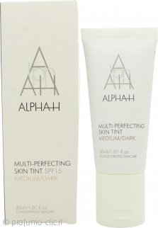 Alpha-H Multi Perfecting Skin Tint SPF15 30ml - Medio/Scuro