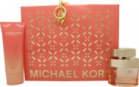 Michael Kors Wonderlust Gift Set 50ml EDP + 100ml Body Lotion + Key Chain