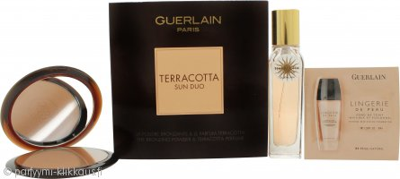 Guerlain Terracotta Sun Duo Gift Set 15ML EDP + 10g Bronzing Powder