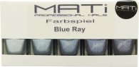 MATi Professional Nails Gift Set Blue Ray 5 x 5ml Nail Polish