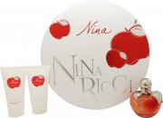 Nina Ricci Nina Gift Set 50ml EDT + 50ml Body Lotion + 50ml Shower Gel