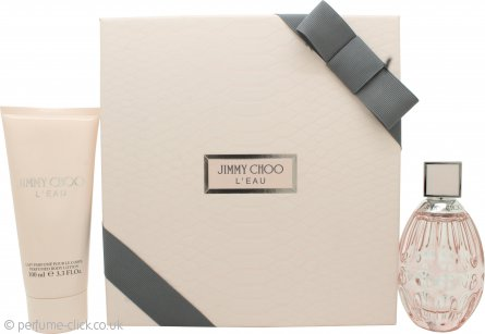 Jimmy Choo L'Eau Gift Set 60ml EDT + 100ml Body Lotion