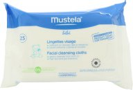Mustela Bébé Facial Cleansing Cloths - 25 Cloths