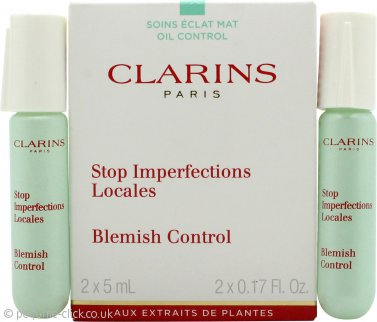 Clarins Stop Imperfections Locales Blemish Control 2x 5ml