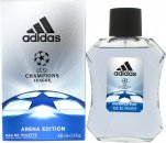 Adidas UEFA Champions League Arena Edition Eau de Toilette 100ml Spray