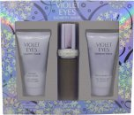 Elizabeth Taylor Violet Eyes Set de Regalo 30ml EDP + 50ml Loción Corporal + 50ml Gel de Ducha