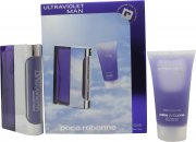 Paco Rabanne Ultraviolet Man Gavesæt 50ml EDT + 50ml Shower Gel