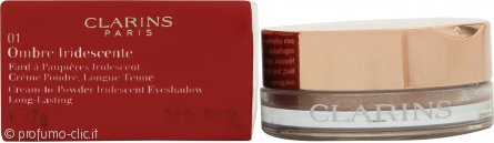 Clarins Ombre Iridescente Cream-to-Powder Ombretto 7g - 01 Aquatic Rose