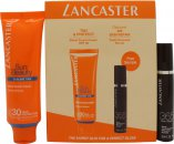 Lancaster Sun Beauty Expert Duo Geschenkset 30ml Velvet Touch Cream SPF30 + 10ml 365 Skin Repair Serum