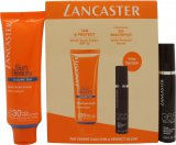 Lancaster Sun Beauty Expert Duo Set Regalo 30ml Crema Effetto Velluto SPF30 + 10ml 365 Siero Riparatore